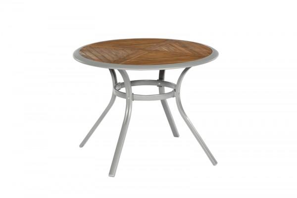 Siena Tisch Ø 100 cm, Tischplatte aus Akazienholz