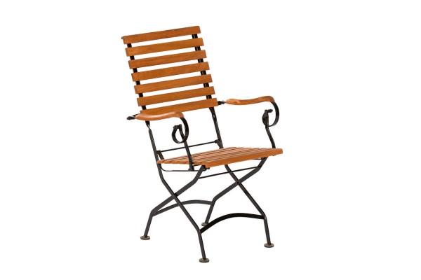 Schlossgarten Sessel hohe Rückenlehne