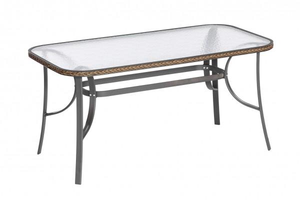 Roma Tisch, 150 x 80 cm schoko