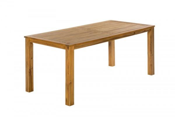 Gartentisch 185 x 90 cm Akazienholz