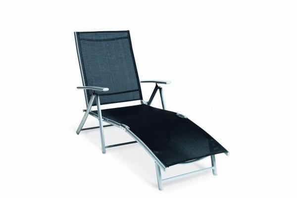 Deckchair Liege - schwarz