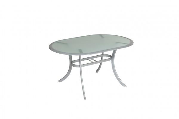 Tisch, oval, 140 x 90 cm