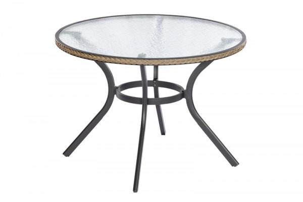 Ravenna Tisch, rund , Schoko