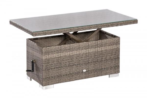 Bari Tisch, höhenverstellbar