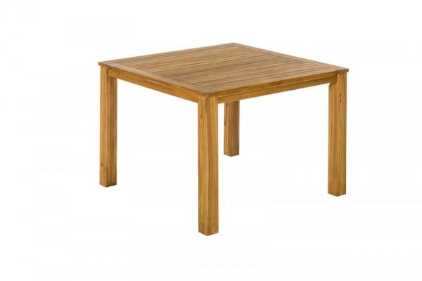 Gartentisch 110 x 110 cm quadratisch