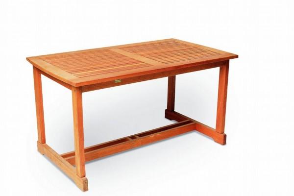 Tisch 140x80 Eukalyptusholz